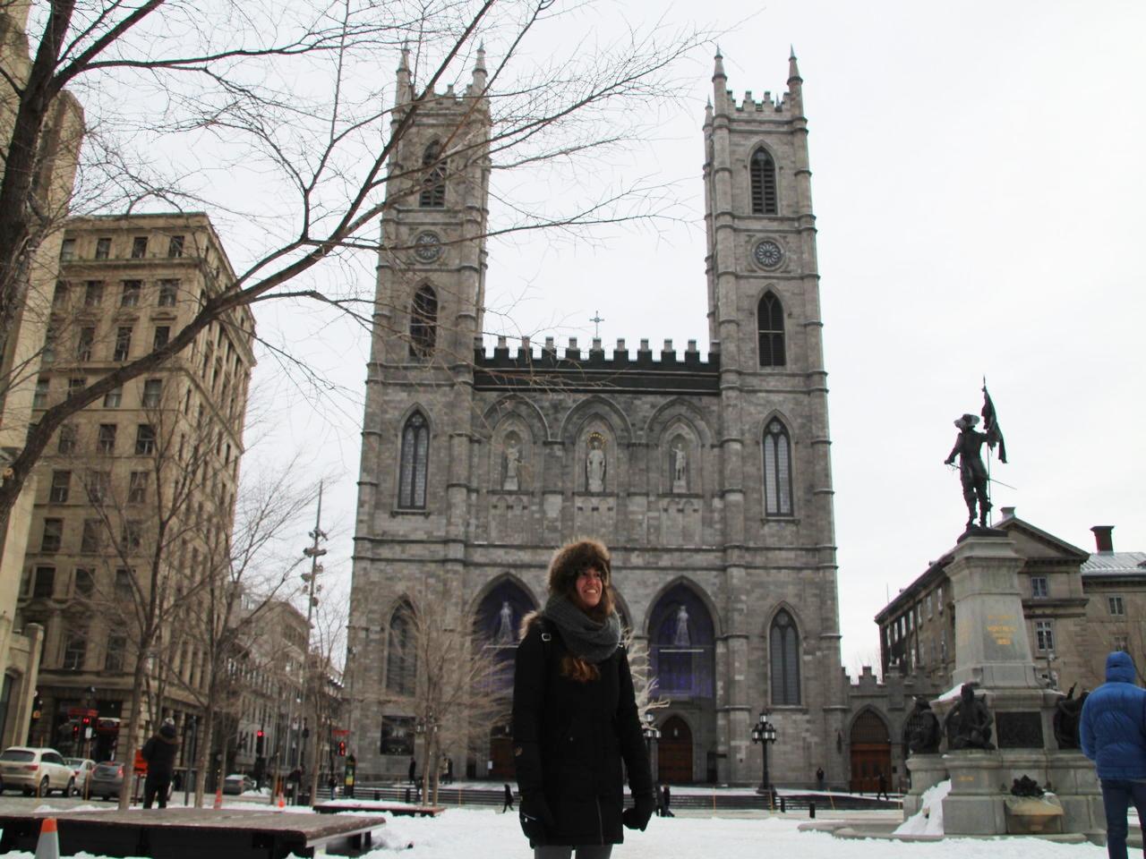 Qué ver en Montreal en invierno: Basílica de Notre-Dame.