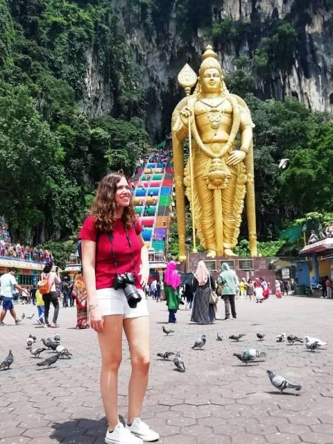 Batu Caves es el santuario hinduista más impactante que ver en Kuala Lumpur en dos días.