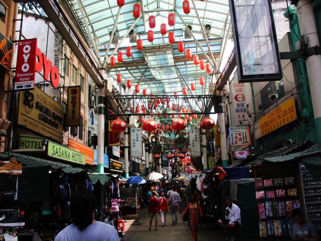 Sabrás que has llegado a Chinatown cuando veas los famosos farolillos rojos.