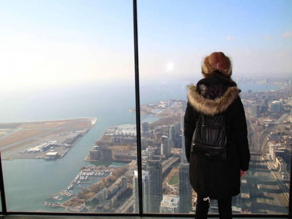Qué hacer en Toronto: subir a la CN Tower.