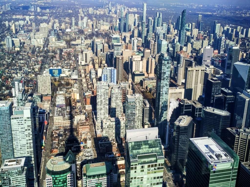 Skyline de Toronto. ¡Sin palabras!