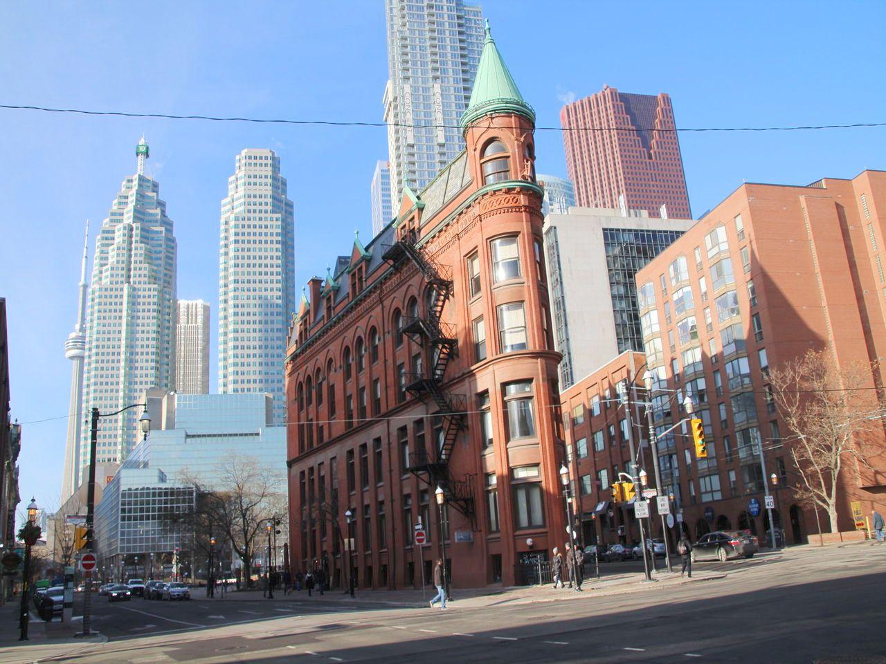 Gooderham Building, el edificio más singular de Toronto.