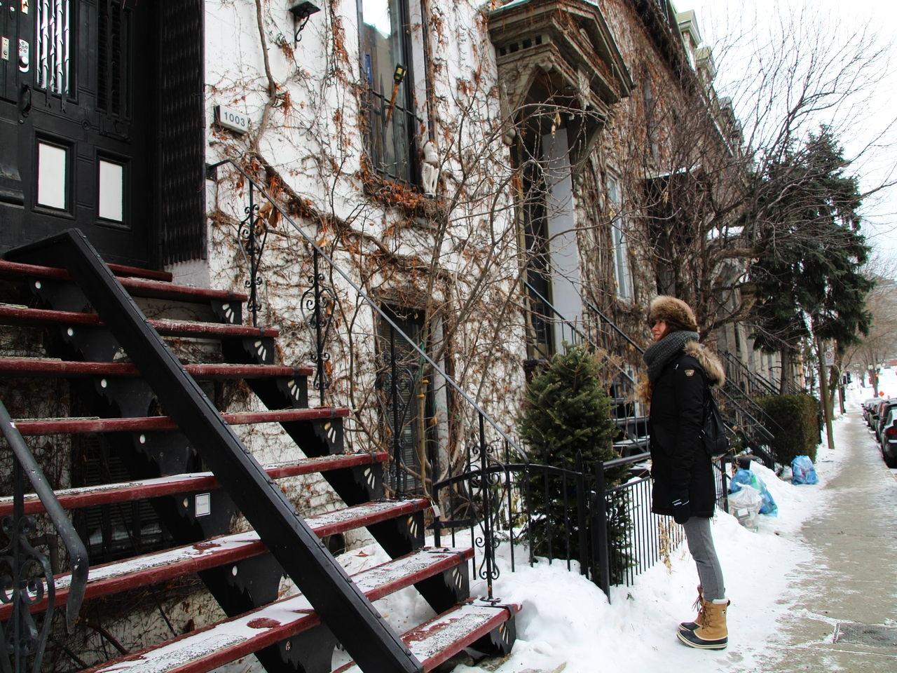 Es posible hacer turismo por Montreal en invierno con ropa de abrigo gran frío.