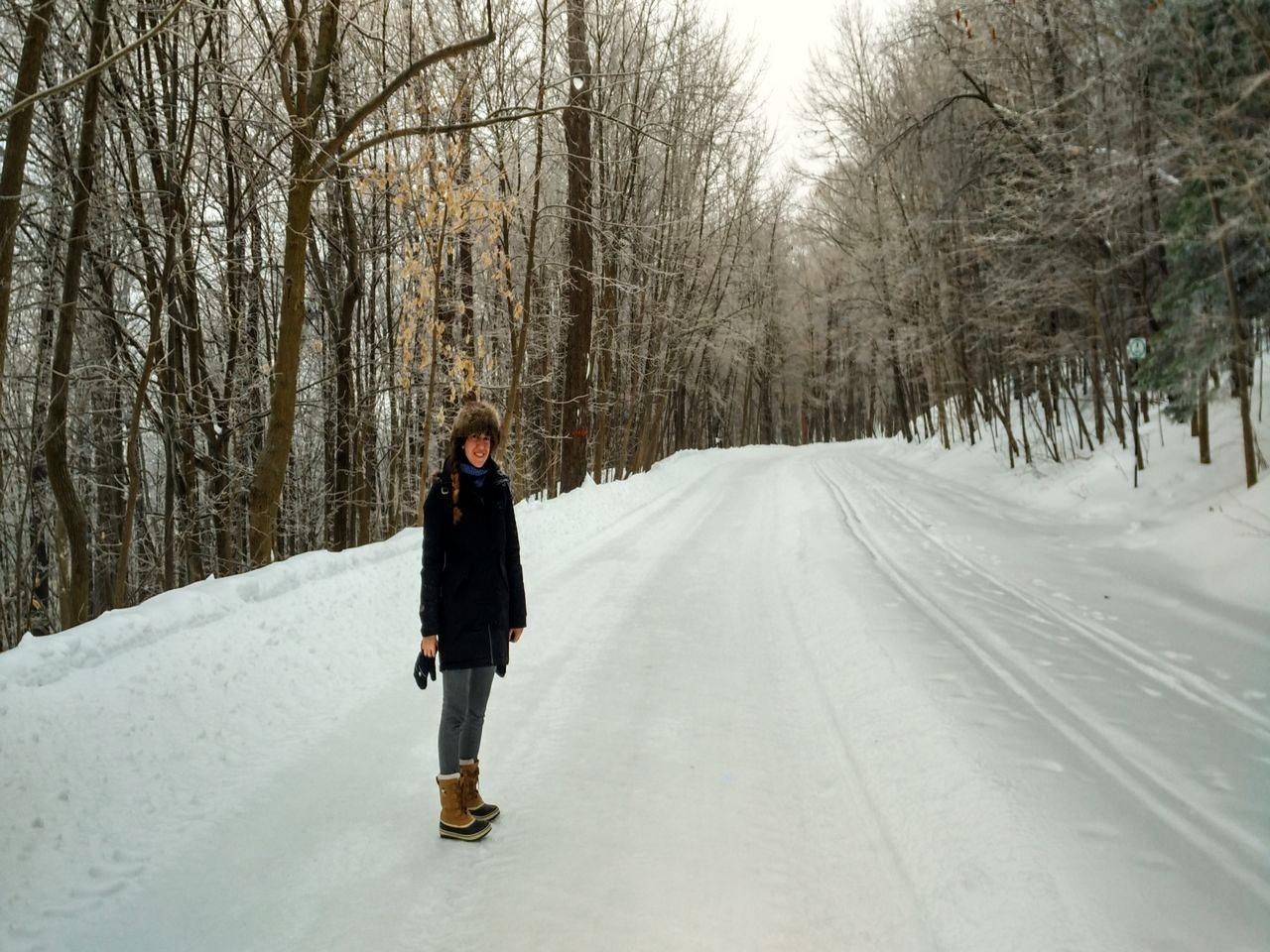 Qué ver en Montreal en invierno: parque de Mont-Royal.