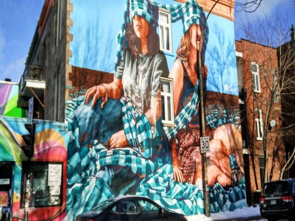 Qué ver en Montreal: street art en el Barrio Latino o Quartier Latin.