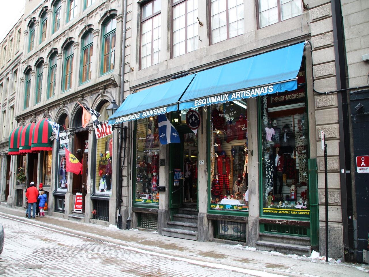 La calle Saint-Paul es la más antigua que ver en Montreal.