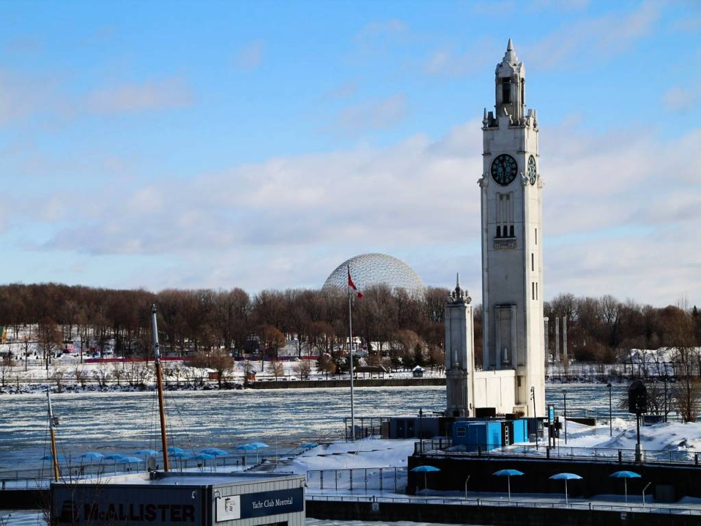 Vieux Port, una de las zonas más turísticas que ver en Montreal.