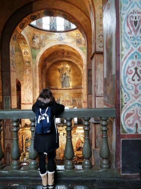 La Catedral de Santa Sofía tiene un exterior llamativo y un interior soberbio.