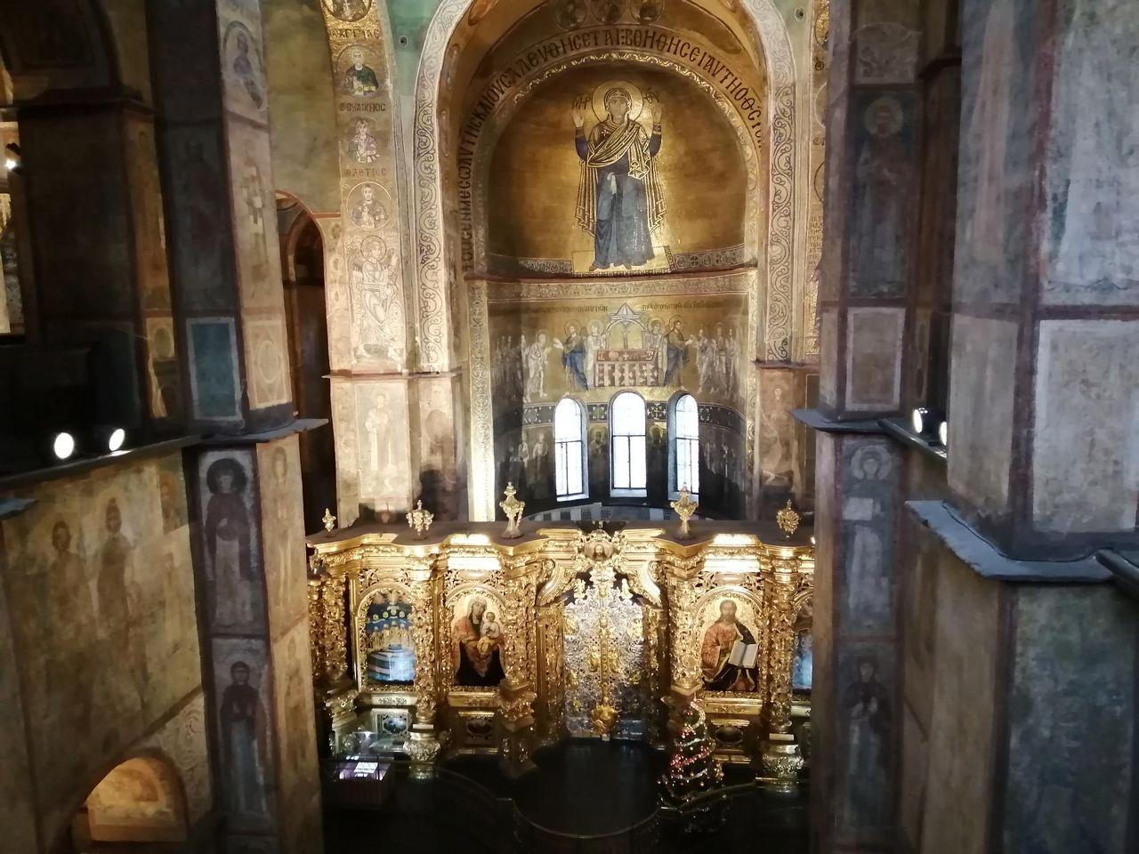 Cuánto cuesta un viaje a Kiev: la entrada a la Catedral de Santa Sofía no es gratuita.