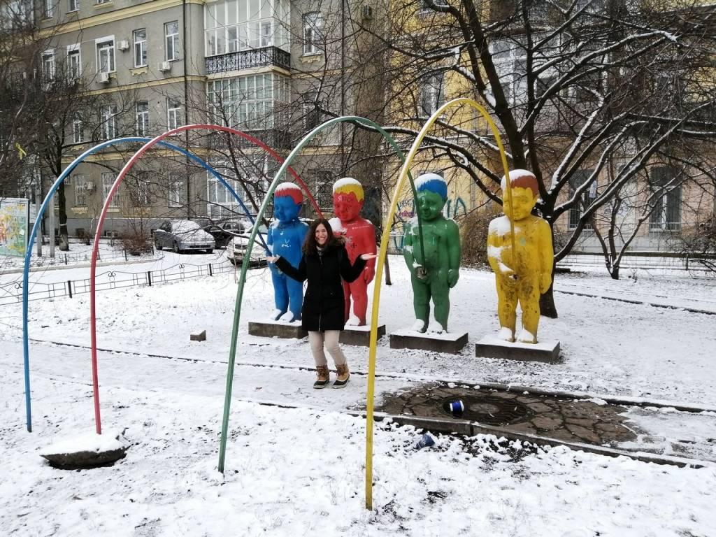 Qué ver en Kiev: parque Landscape Alley.
