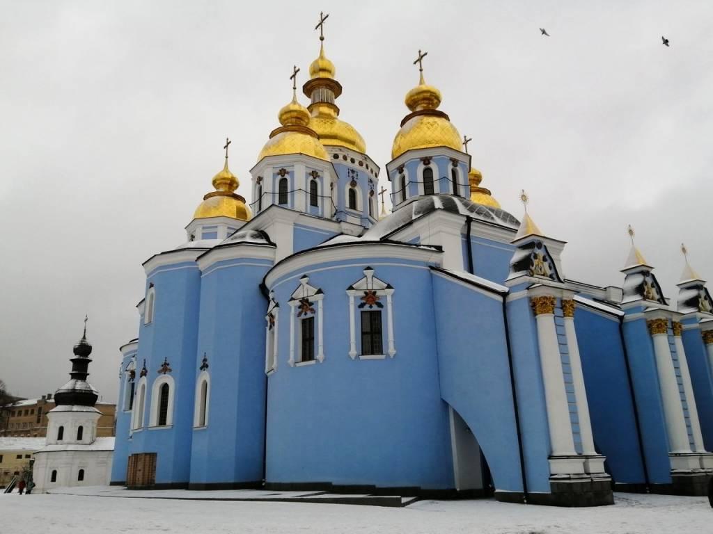 Qué ver en Kiev: Monasterio de San Miguel de las Cúpulas Doradas.