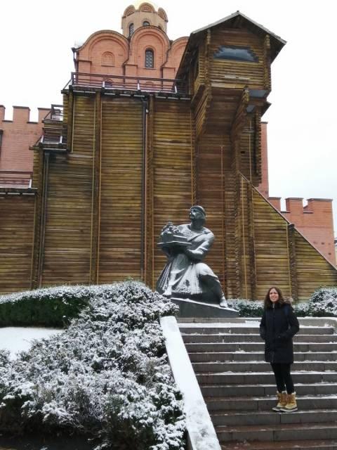 La Puerta Dorada servía como entrada triunfal a la ciudad de Kiev.