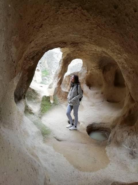 Presupuesto para viajar a Turquía: monasterio de Selime en Capadocia.