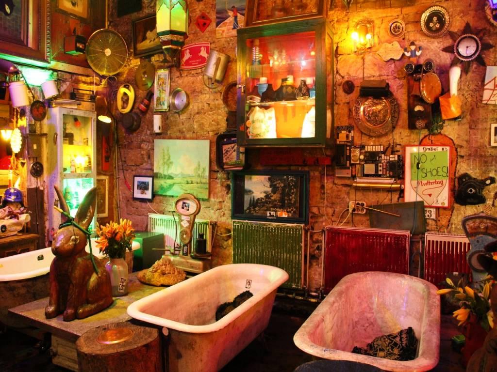 Presupuesto para viajar a Budapest: Ruin Pub de Szimpla Kert.