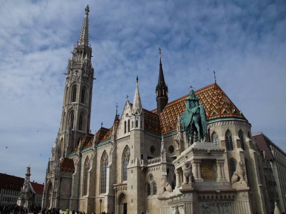 La Iglesia de Matías es mi favorita que ver en Budapest.