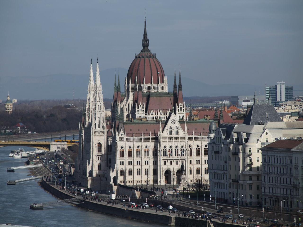 Hasta ahora, mi Parlamento favorito del mundo es el de Budapest.