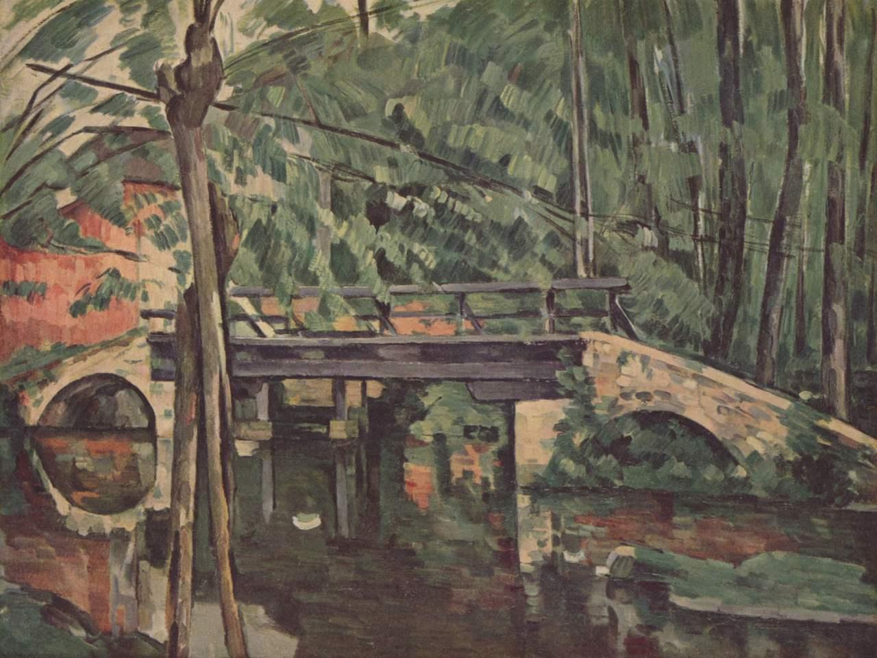 Paul Cézanne pintó 'Puente de Maincy' cuando residía en la localidad cercana de Melun.