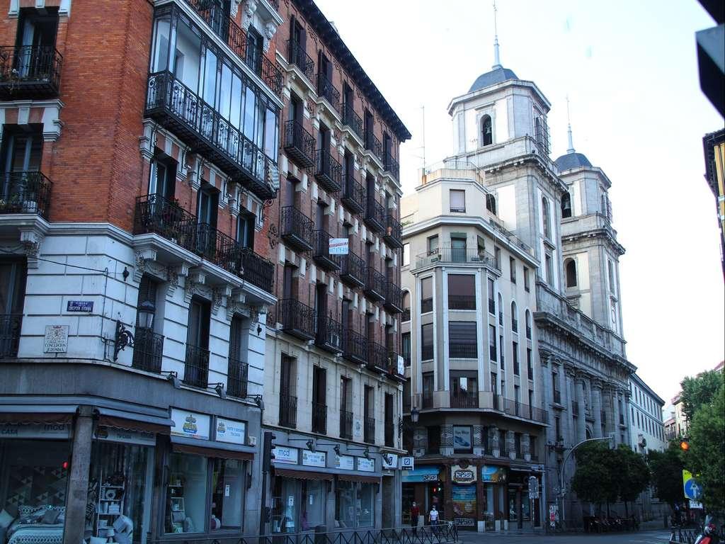 Una de las arterias principales del Madrid de los Austrias es la calle Toledo.