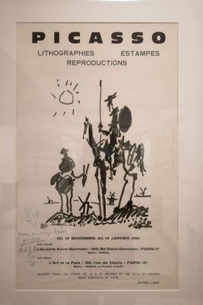En este museo se exhiben obras y recuerdos que Picasso regaló a su barbero, Eugenio Arias.