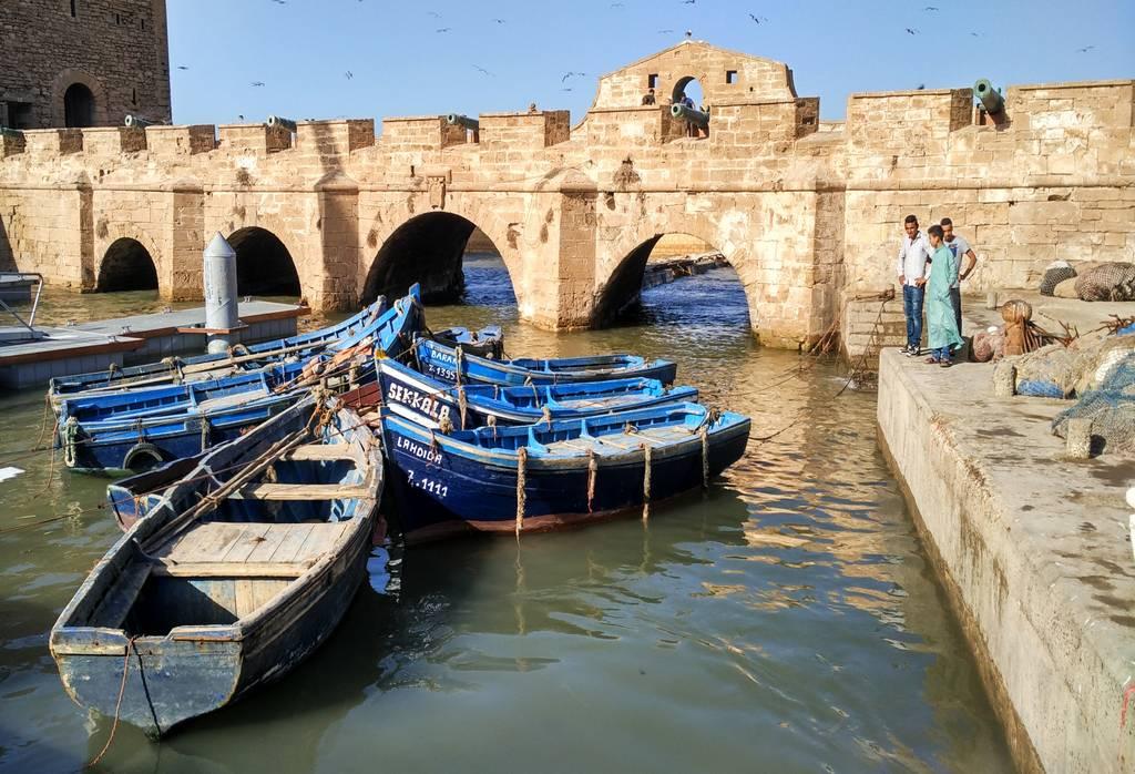 No te olvides de probar las sardinas de Essaouira, están exquisitas.
