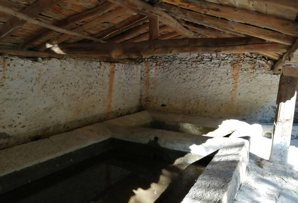 El lavadero es un lugar con mucha tradición que ver en Patones de Arriba.