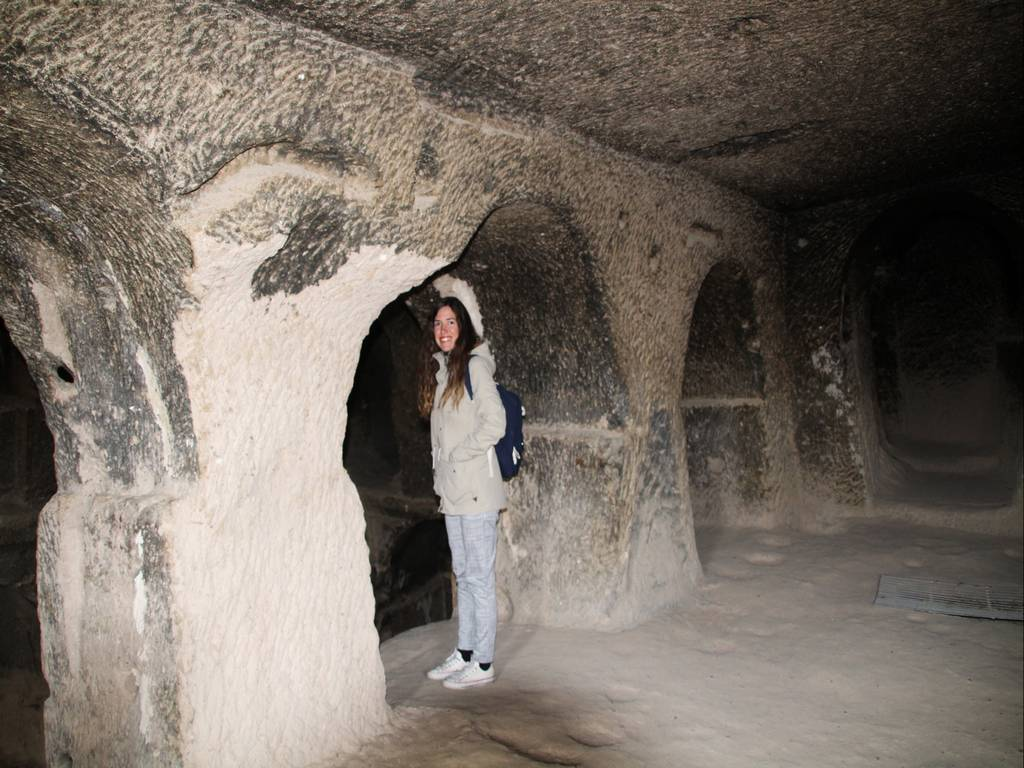 Visitar el Monasterio de Selime por dentro es una experiencia muy recomendable.