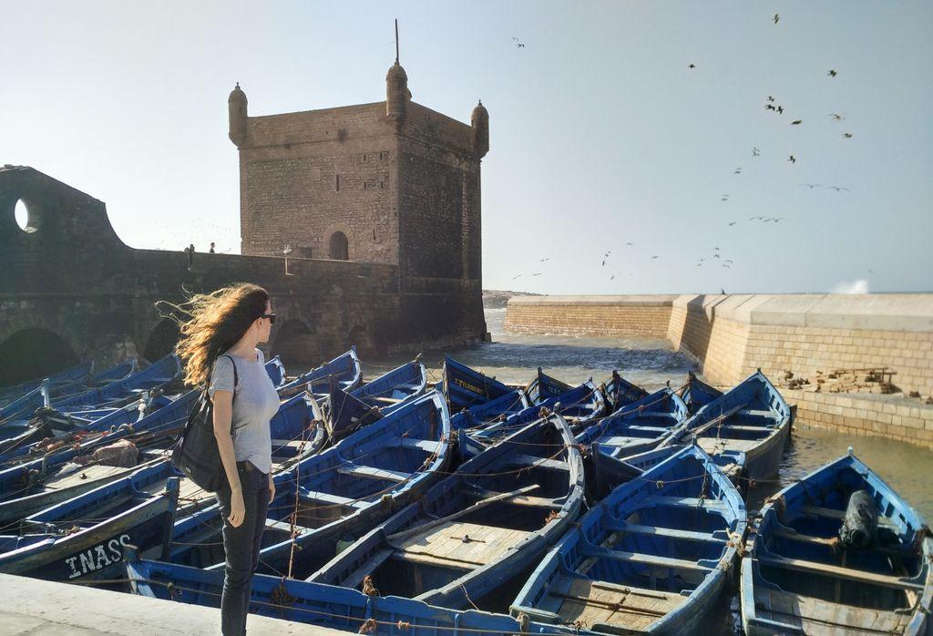 Essaouira, también conocida como la Perla del Atlántico, es una de las excursiones desde Marrakech más recomendables.