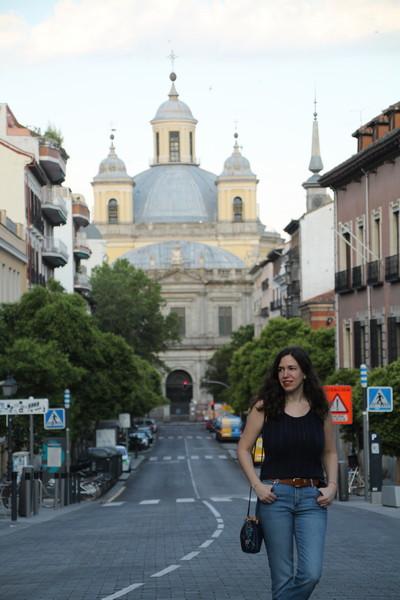 La Basílica de San Francisco el Grande durante mi recorrido por el Madrid de los Austrias.