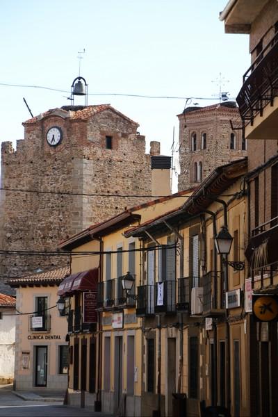 Vistas de la Torre del Reloj de camino a la Plaza de la Constitución.