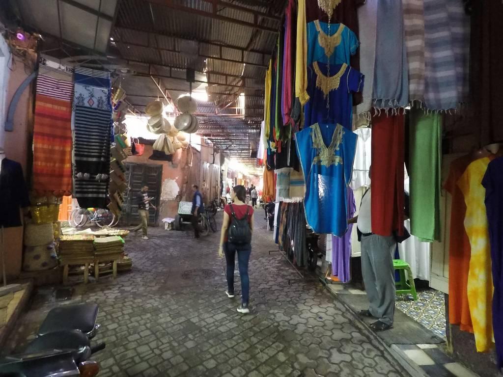 Uno de mis planes favoritos en Marrakech es perderme por su zoco.