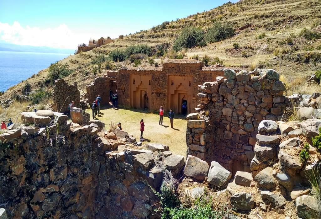 La Isla de la Luna es muy pequeña pero es un territorio sagrado para las culturas prehispánicas.