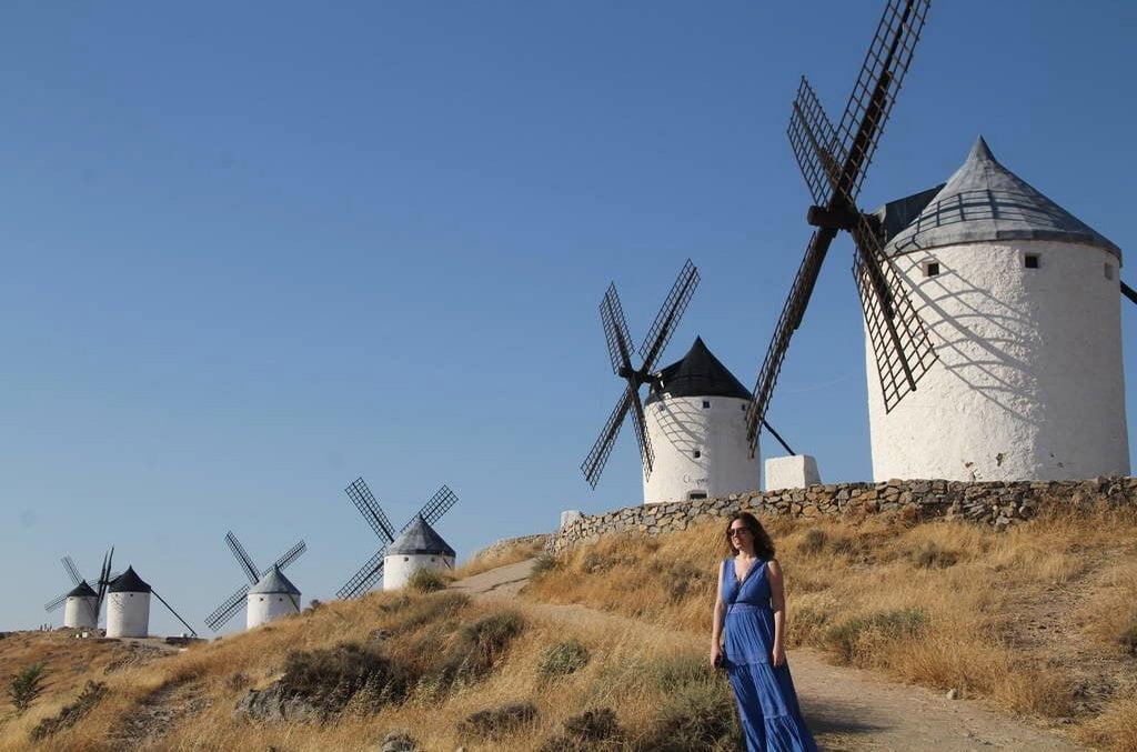 Los molinos de viento de Consuegra son un lugar de postal de La Mancha toledana.