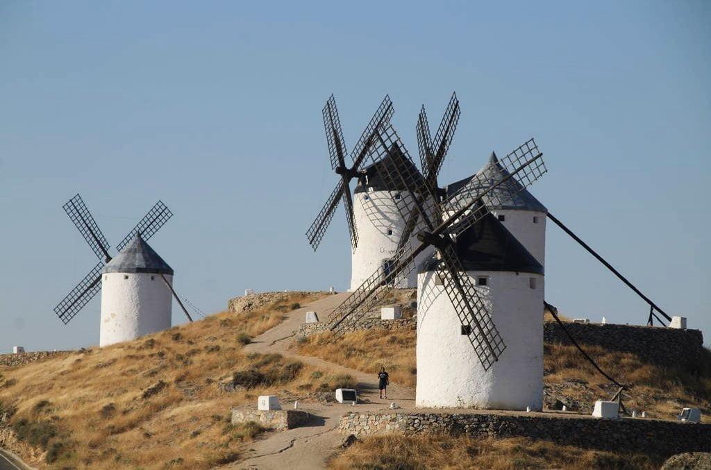 La mayoría de los molinos fueron construidos a finales del siglo XVIII y principios del XIX.