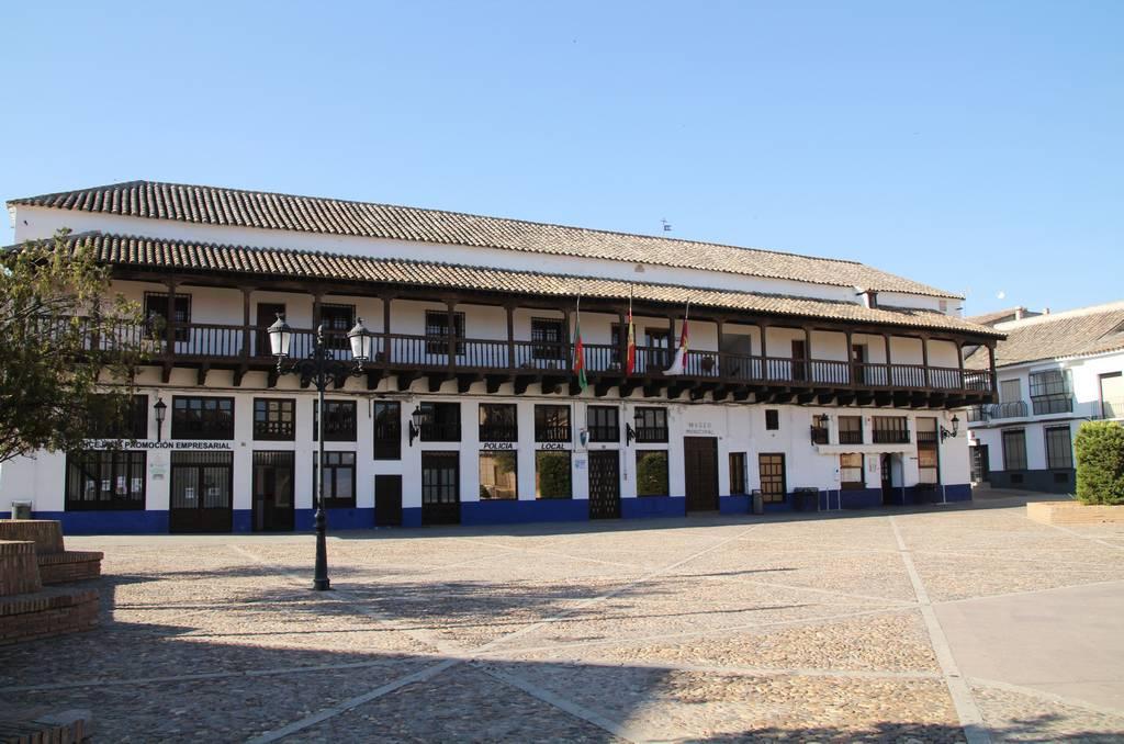 """La balconada del edificio de """"los Corredores"""", donde está el Museo Arqueológico, me parece una joya."""