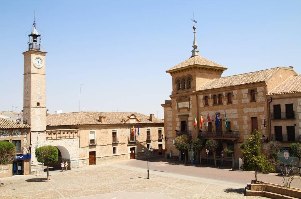 El centro neurálgico que ver en Consuegra es la Plaza de España.