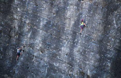 Pontón de la Oliva: ruta por el paraíso de los escaladores