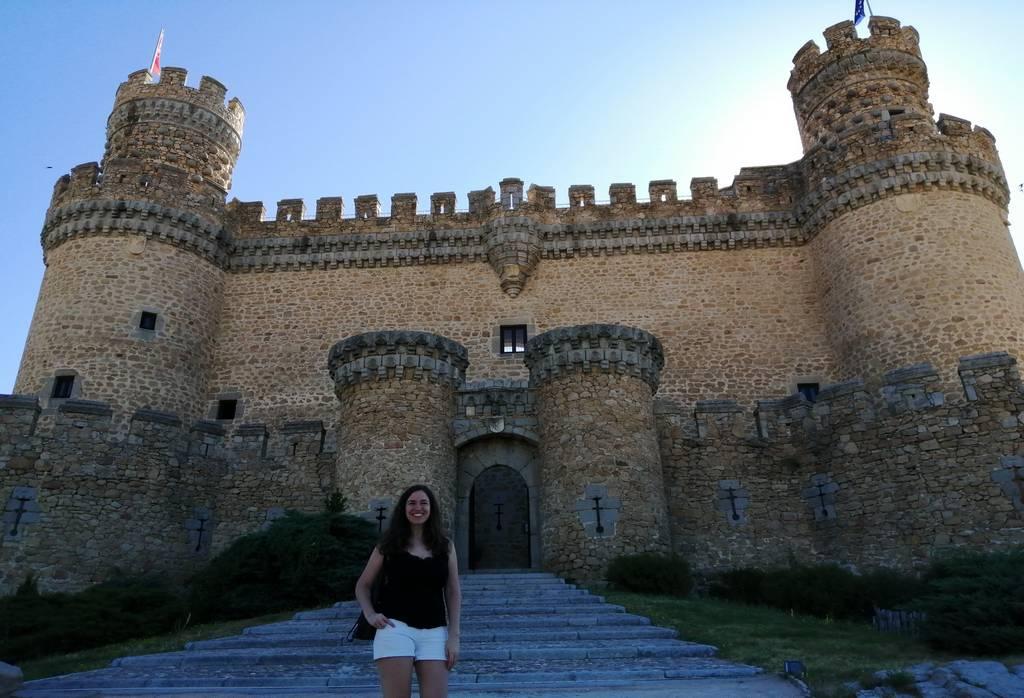 El Castillo de Manzanares El Real es el mejor conservado de la Comunidad de Madrid.