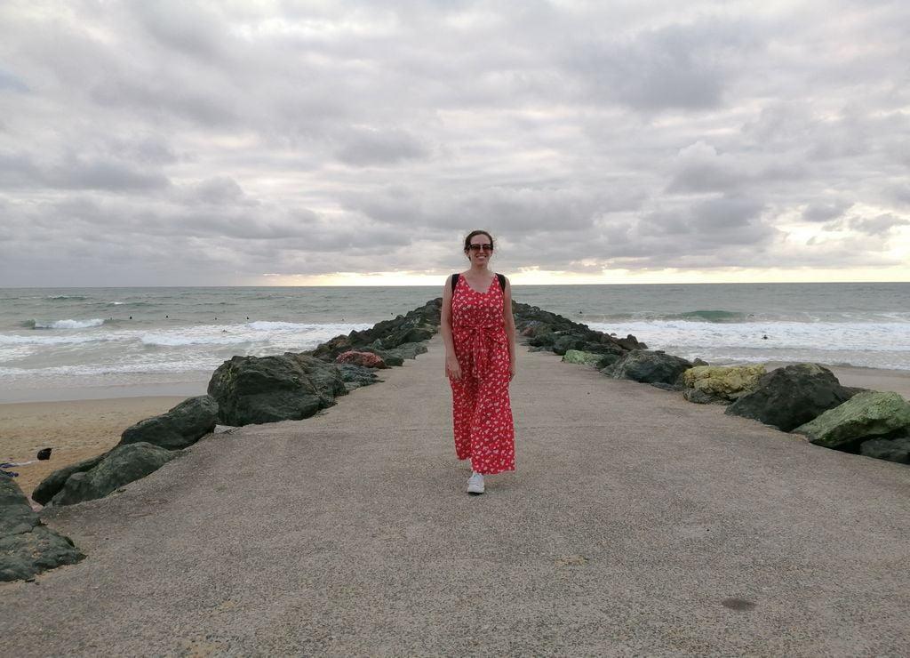 Anglet (y sus espigones) es mi zona de playas favorita en los alrededores de Biarritz.