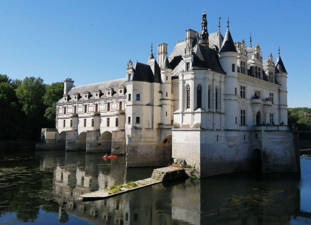 """El castillo de Chenonceau es conocido como el """"Castillo de las Damas""""."""