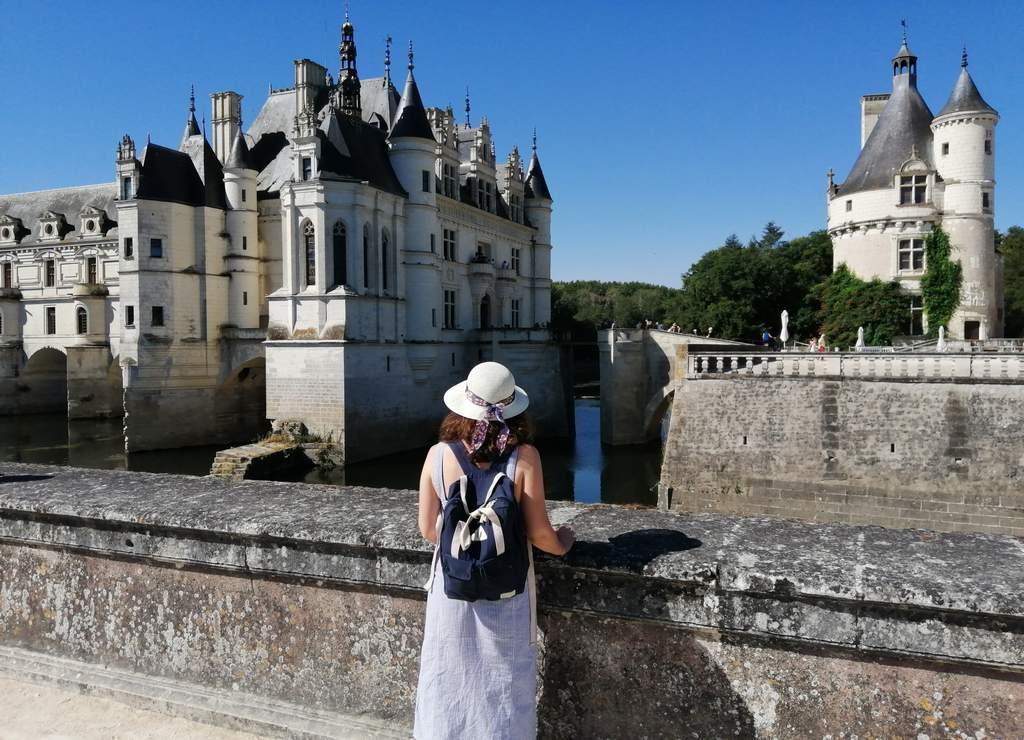 El castillo de Chenonceau es uno de mis favoritos en el Valle del Loira.