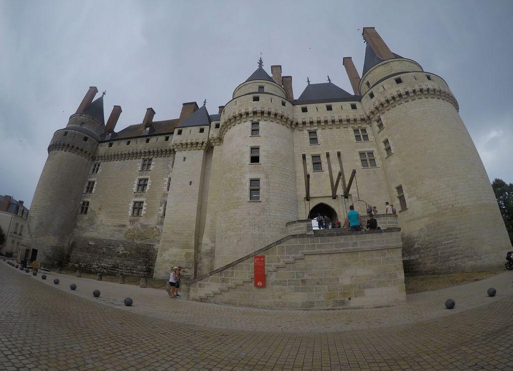 El castillo de Langeais se puede ver por fuera sin necesidad de pagar entrada.
