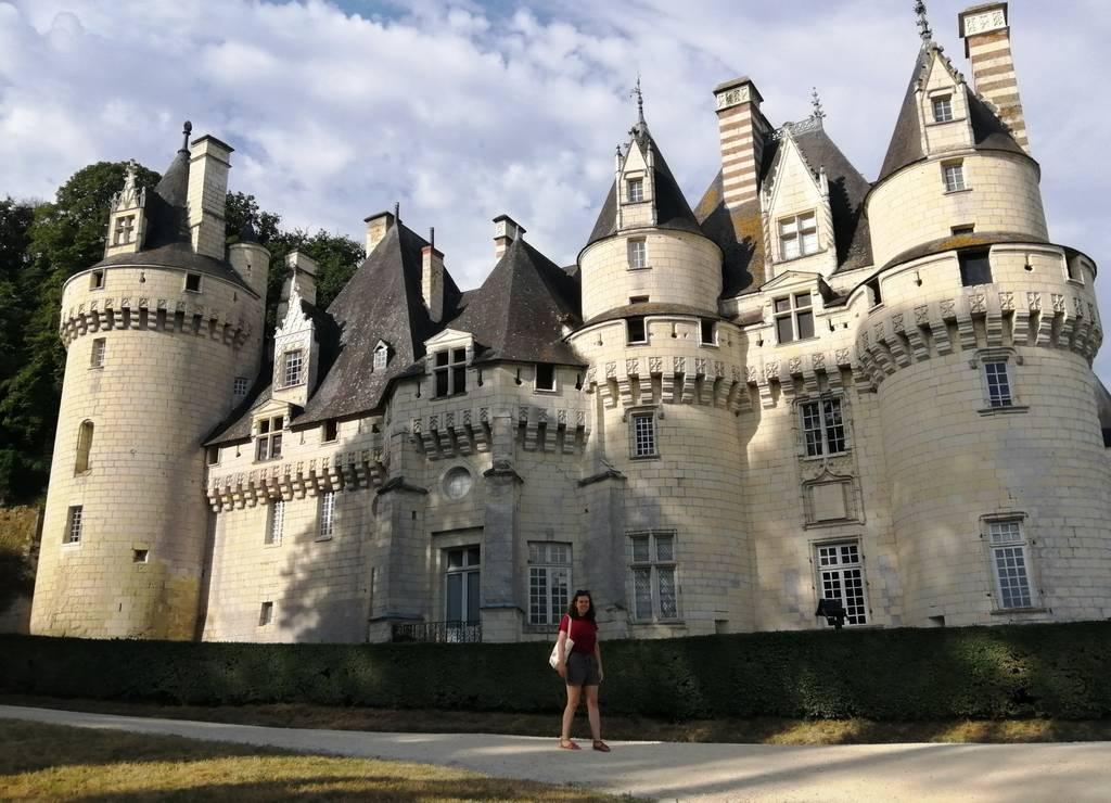 Otro de los mejores castillos del Loira es el de Ussé, donde hay una recreación de La Bella Durmiente.