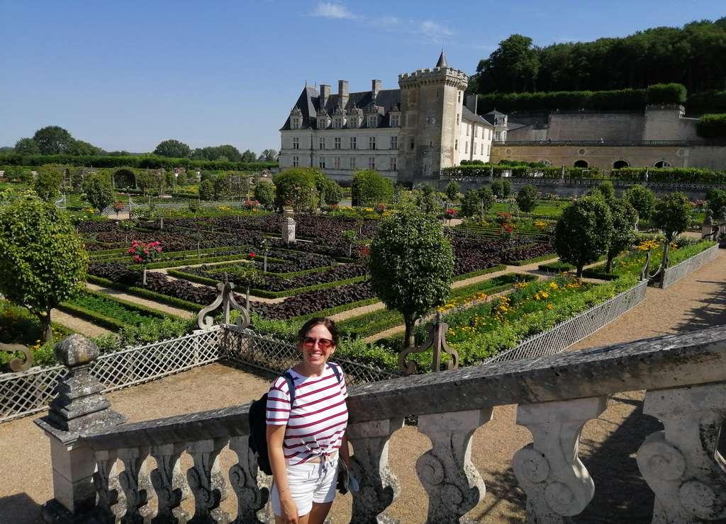 Uno de los castillos del Loira imprescindibles es el de Villandry por sus jardines.