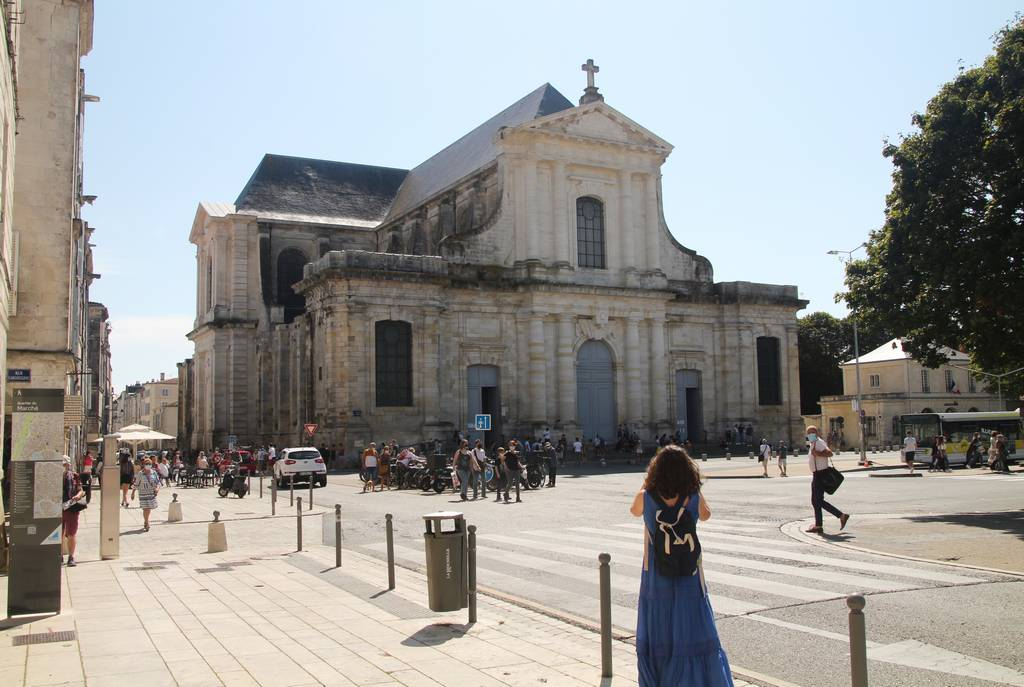 La entrada a la Catedral de San Luis es gratuita.