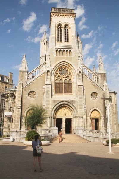 Las vidrieras de la Iglesia de Santa Eugenia son una auténtica joya.