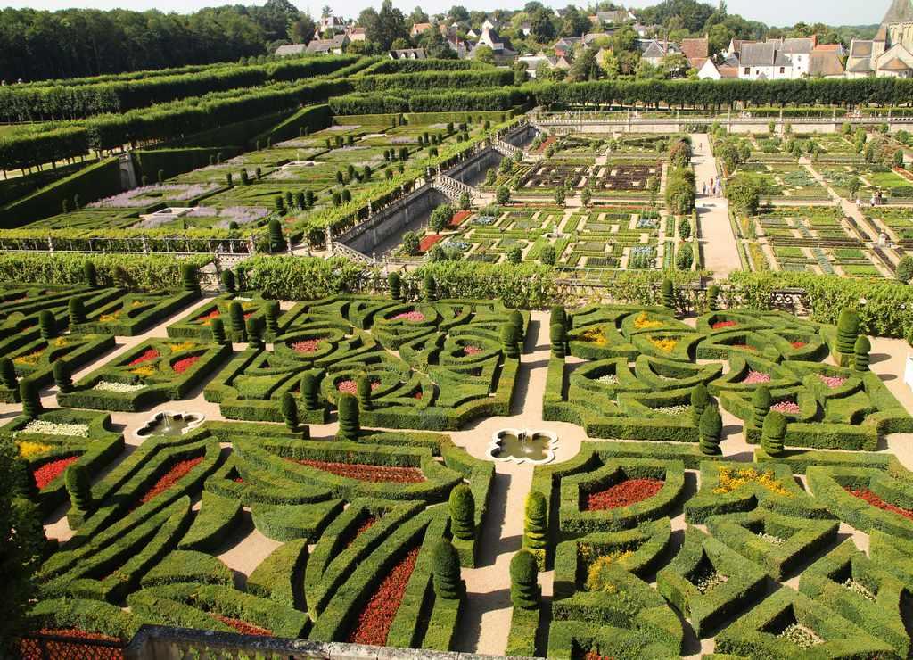 ¿Alguna vez has visto unos jardines tan extensos y bien cuidados como los de Villandry?