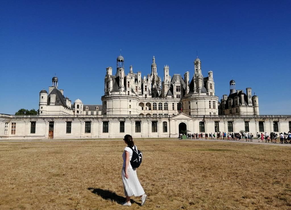 El castillo de Chambord es uno de los más visitados del Valle del Loira.