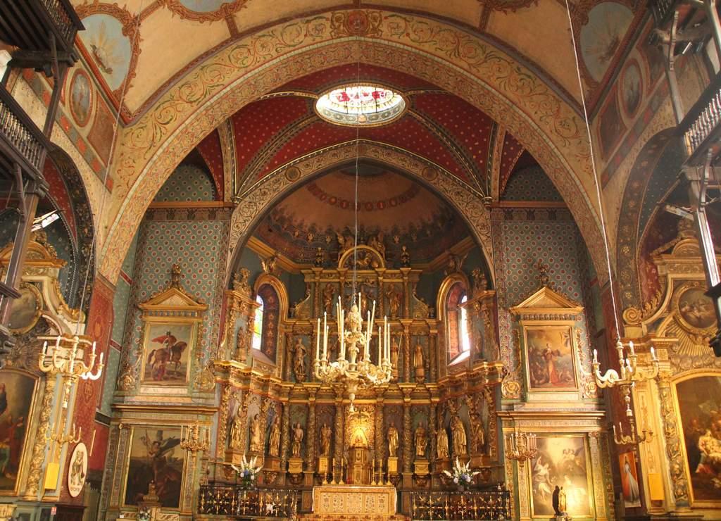 La Iglesia de San Juan Bautista es el edificio religioso más importante que ver en San Juan de Luz.