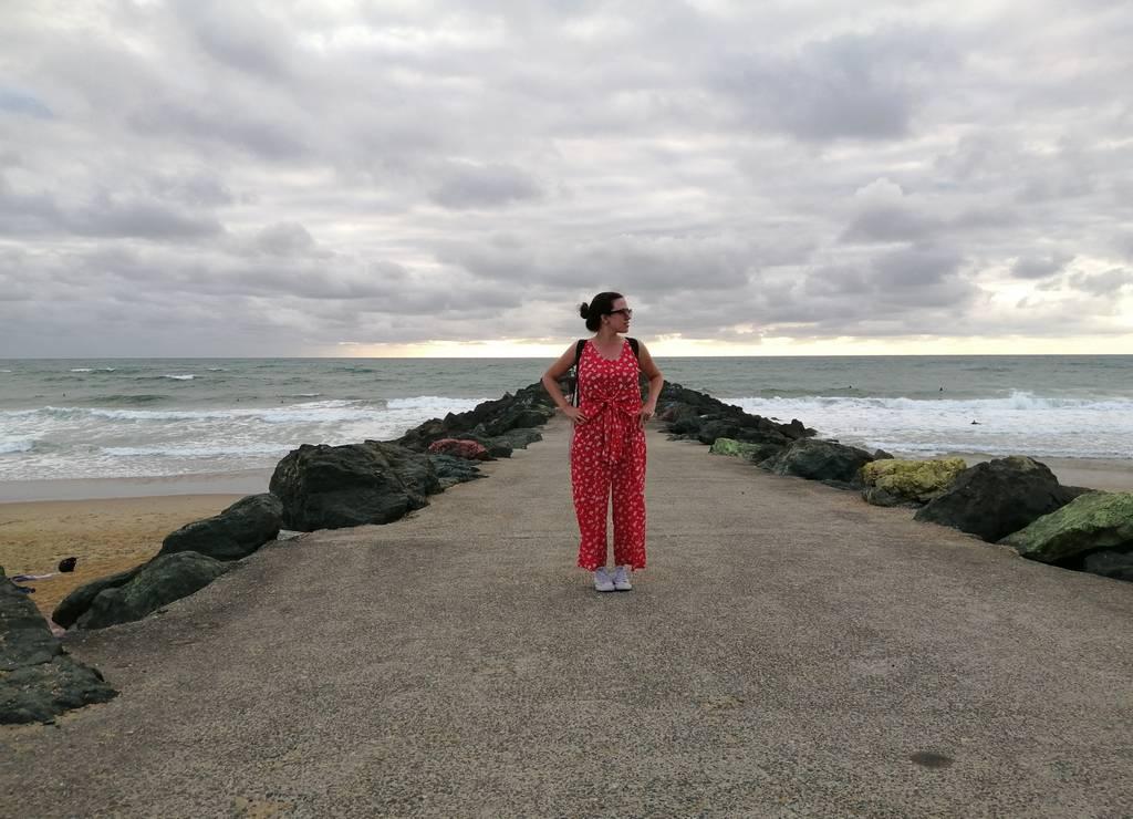 Mi sitio preferido de playas en el País Vasco francés es Anglet por su ambiente surfero.