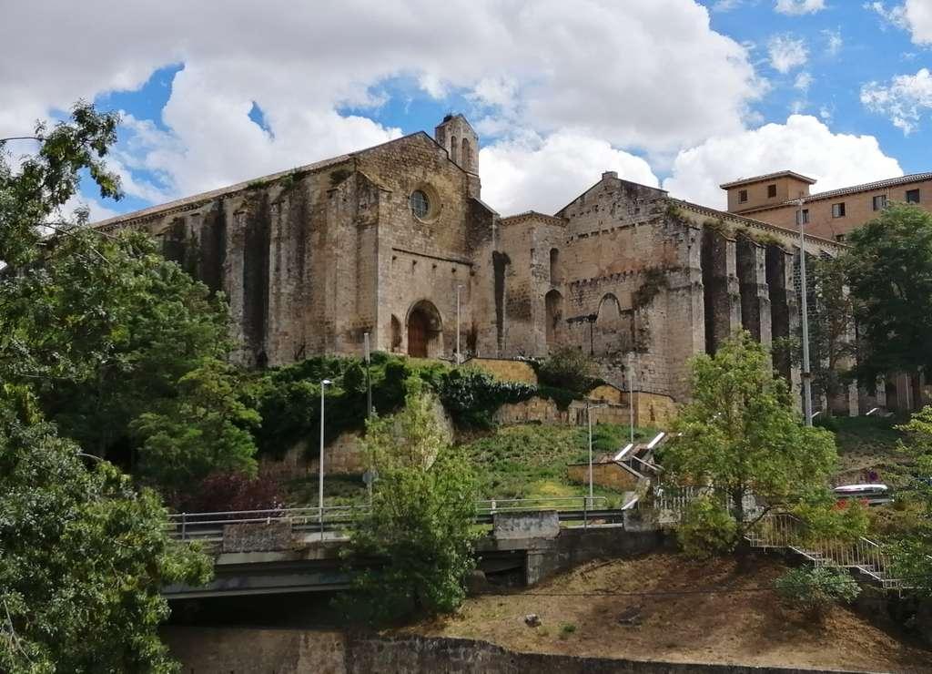 El convento de Santo Domingo fue fundado en 1259 por los frailes dominicos.